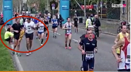Scambio maglia maratona di milano